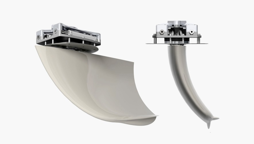 Curved Stabilizer Fins