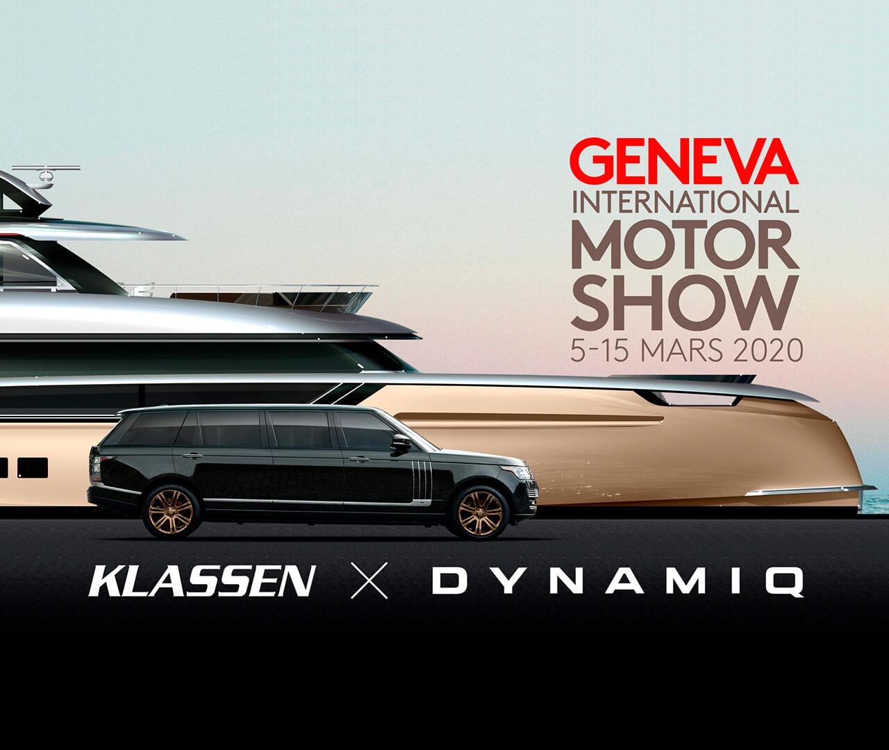 Dynamiq and Klassen joined forces to create the ultimate superyacht experience