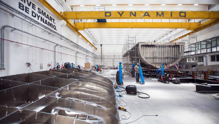 Robust full aluminium construction