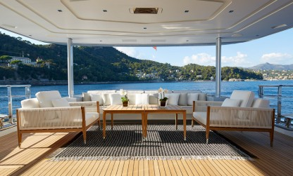 Dynamiq Jetsetter yacht aft deck