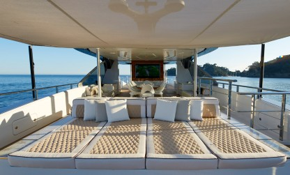 Dynamiq Jetsetter yacht sun pads