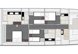 4 cabin arrangement