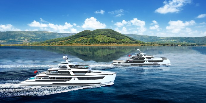 Dynamiq presents new range of configurable superyachts