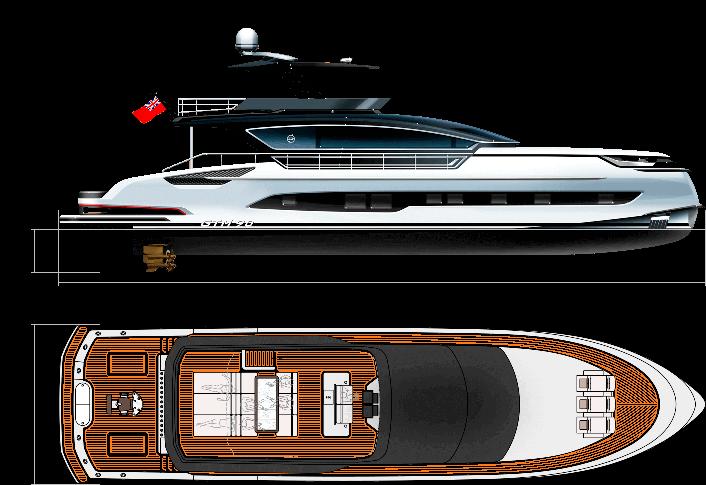 GTM 90 <br>Sportfisher