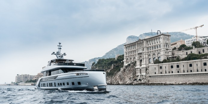 Dynamiq GTT 115 Hybrid by Studio F.A. Porsche takes the yachting industry by storm