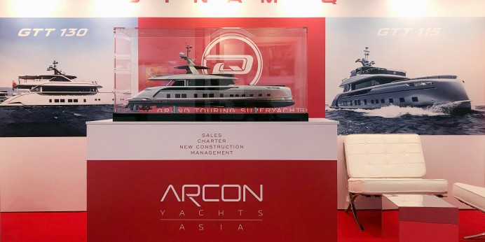 DYNAMIQ AT THE SINGAPORE YACHT SHOW 2018