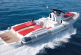 Pirelli 1100 chase boat