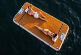 2 надувных плавучих платформы NautiBuoy Marine