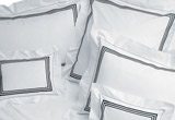 Bed linen, bath and deck towels by Pratesi