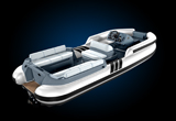 Castoldi 17' tender in yacht colours