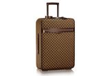 Monogrammed Louis Vuitton 2-piece suitcase set