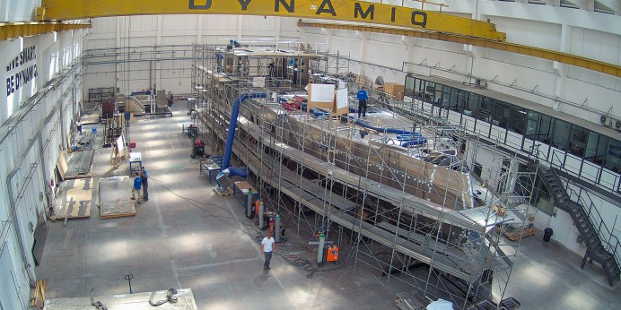 Dynamiq GTT 135 construction is making progress