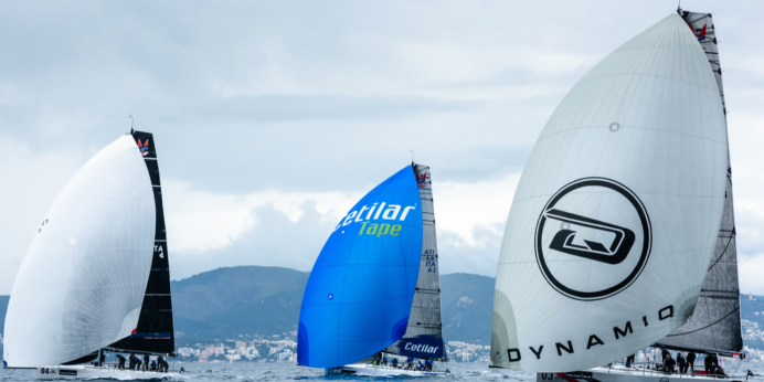 Dynamiq–Synergy racing team sails in Palma Vela to the max