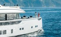 Dynamiq Jetsetter yacht front profile