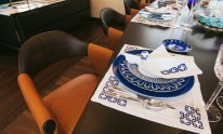 Dynamiq Jetsetter yacht table set up by Sabrina Montecarlo