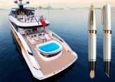 Superyacht brand Dynamiq and luxury pen makers Montegrappa create special edition pen